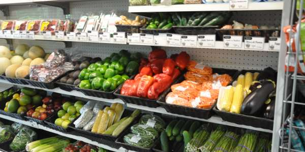 Produce case